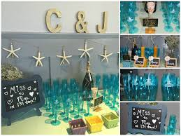 theme bridal shower decorations themed bridal shower decorations and chagne bar this