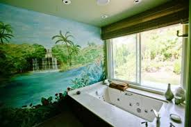 bathroom wall mural ideas beautiful wall murals design for your bathroom