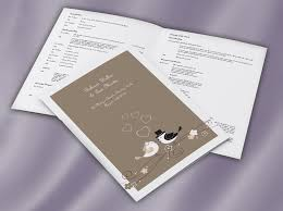 wedding booklets classic collection ceremony booklets wedding print