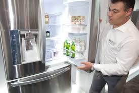 lg bottom freezer french door refrigerator lg u0027s french door fridge keeps food cold beer colder wired