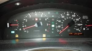 lexus ls400 dashboard warning lights fix peridically freezing speedometer u0026 fuel gauge reading below