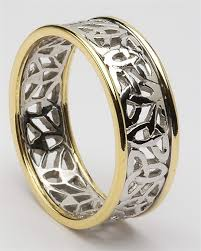 celtic rings mens celtic wedding rings mg wed148