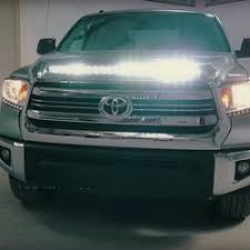 2014 tundra led light bar 14 17 toyota tundra off road lighting mounts and grilles