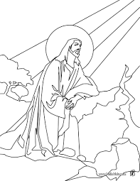 jesus ascension coloring page miracles jesus ascension christian