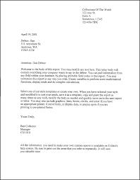 Sample Financial Report Patriotexpressus Fascinating Formal Legal Letter Template