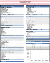 Excel Balance Sheet Template Free Free Downloadable Excel Balance Sheets Balance Sheet Template