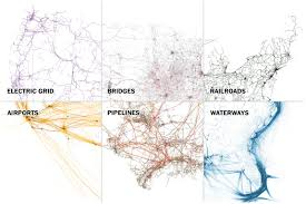Full Map Of The United States by Six Maps That Show The Anatomy Of America U0027s Vast Infrastructure