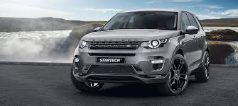 land rover evoque custom startech refines the land rover discovery sport startech refinement