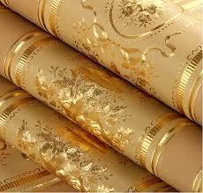 aliexpress com buy european luxury floral striped wallpaper