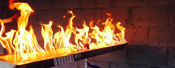 Landscape Fire Features And Fireplace Image Gallery Bobe Water U0026 Fire