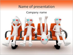 funny 3d movie powerpoint template u0026 backgrounds id 0000005653