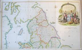 Wales England Map by Original Large Scale Antique Map Of England And Wales By John