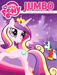 amazon com my little pony coloring and activity book set