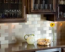 stick on kitchen backsplash tiles peel and stick backsplash for kitchen ideas donchilei