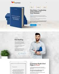 25 best book website templates 2017 freshdesignweb