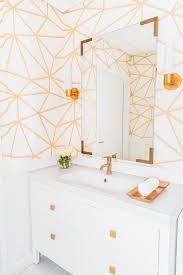 Ceiling Wallpaper by 15 Beautiful Reasons To Wallpaper Your Bathroom Hgtv U0027s