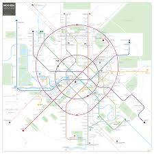 Moscow Metro Map by Moscow Metro Map Inat Maps