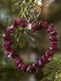 edible ornaments for wildlife in your backyard