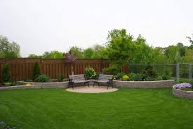 Nice Backyard Ideas by Garden Design With Nice Backyard Ideas Green Grass And Stone