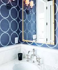 bathrooms grasscloth wallpaper design ideas