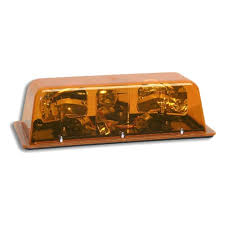 amber mini light bar strobe lights
