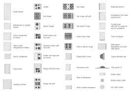 Floor Plan Shower Symbol Appliances Symbols For Building Plan