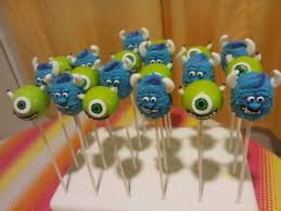 25 parasta ideaa pinterestissä monsters inc cake pops monster