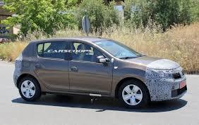 renault sandero interior 2017 facelifted 2017 dacia sandero u0026 logan mcv spied