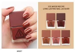 stylenanda 3ce mood recipe long lasting nail lacquer nail polish