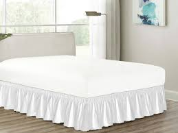 Bed Frame Skirt Bed Skirts Dust Ruffles And Bedskirts Sears