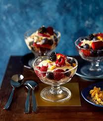 summer fruit trifle gourmet traveller deserts pinterest