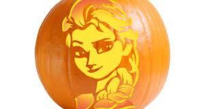 printable pumpkin stencils elsa articles ultimate pumpkin stencils