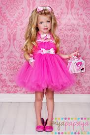 5t Halloween Costumes Barbie Costume Tutu Dress 12months 5t Matching Hair Bow Birthday