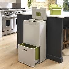 poubelle cuisine poubelle de cuisine totem 60 litres joseph joseph c tendance