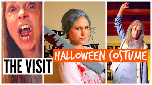 diy halloween costume 2015 the visit scary grandma 2015 youtube