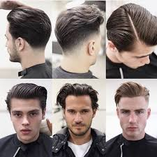 hairstyles you put your face in the many variations of the slicked back hairstyle