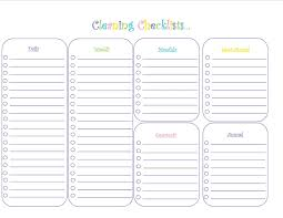 daycare cleaning checklist templates 28 images house cleaning