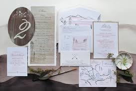 beautiful wedding invitation places our wedding ideas
