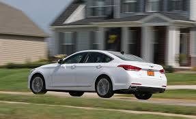 which lexus models run on regular gas 2017 genesis g80 in depth model review car and driver