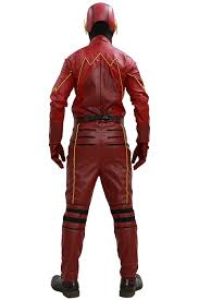 halloween jacket amazon com barry allen costume jumpsuit for