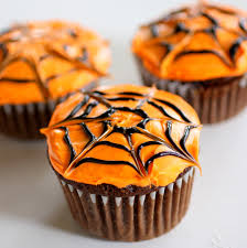 chocolate halloween cakes spiderweb cupcakes the who ate everything
