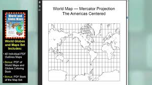 Blank World Map Pdf by World And Globe Maps Blank Printable Unlabeled Pdfs For