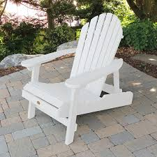 Second Hand Garden Furniture Merseyside Highwood Folding And Reclining Adirondack Chair White