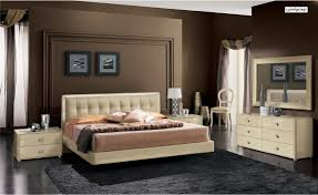 contemporary bedroom sets king queen size furniture lacquer