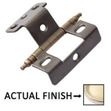 full wrap cabinet hinges knobs4less com offers classic brass clb 303919 cabinet hinges