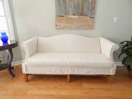 Slipcovers For Sofas And Chairs by Pam Morris Sews Another Drop Cloth Slipcover