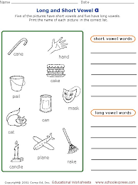 9 best esl long u0026 short vowels images on pinterest short vowels