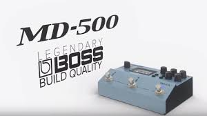 boss md 500 modulation