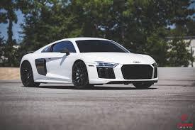 Audi R8 Nardo Grey - detail audi shine auto