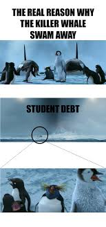 Happy Feet Meme - the real reason why the killer whales of happy feet swam away